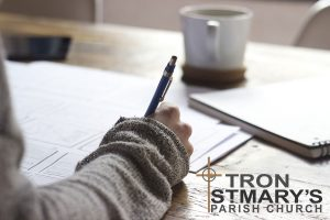 From the manse study deskFrom the manse study desk at Tron St Mary Parish Church